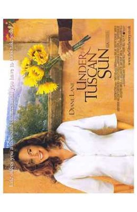 Framed Under the Tuscan Sun - movie poster Print