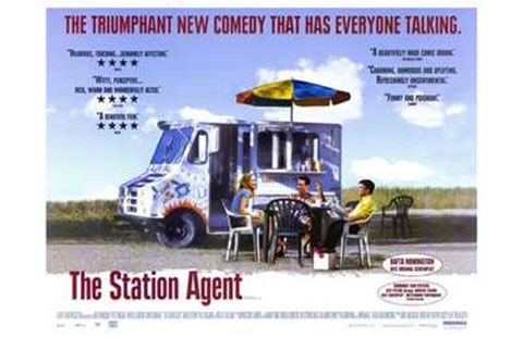 Framed Station Agent Print