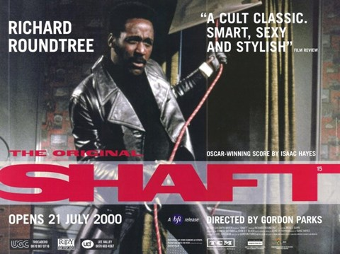 Framed Shaft Richard Roundtree 2000 Print