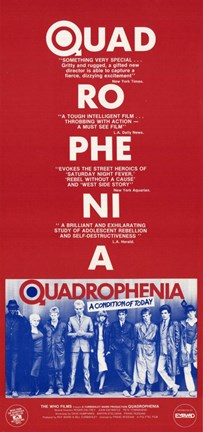 Framed Quadrophenia Film Print