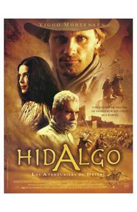 Framed Hidalgo - movie Print