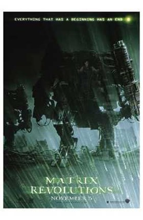 Matrix Revolutions Robots