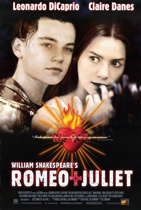 Framed William Shakespeare's Romeo Juliet - movie poster Print