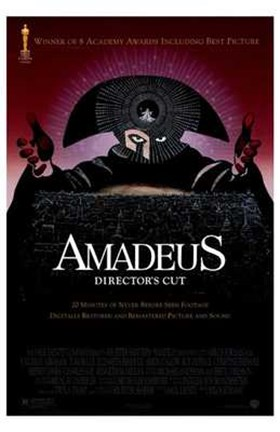 Framed Amadeus Director's Cut Print