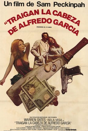 Framed Bring Me the Head of Alfredo Garcia - Weapons Print