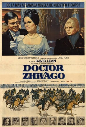 Framed Doctor Zhivago with Horse Scene Print