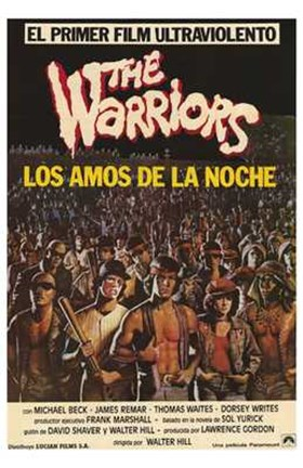 Framed Warriors El Primer Film Print