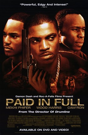 Framed Paid in Full Print
