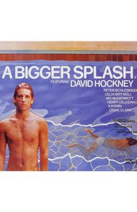 Framed Bigger Splash Print