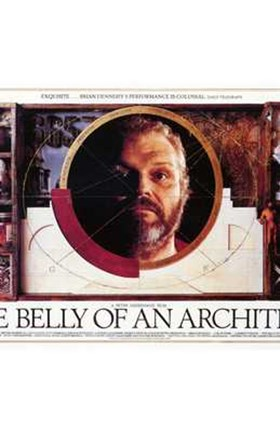 Framed Belly of an Architect Movie Print