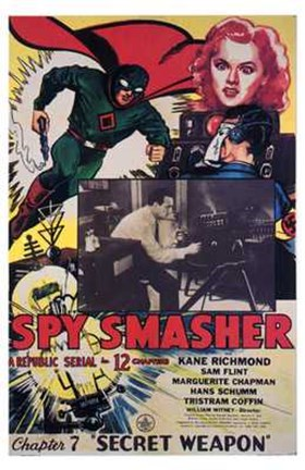 Framed Spy Smasher Print