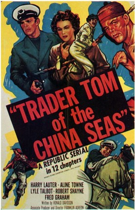 Framed Trader Tom of the China Seas Print