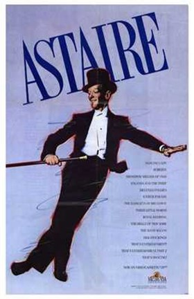Framed Astaire Print