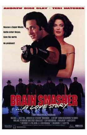 Framed Brain Smasher a Love Story Print