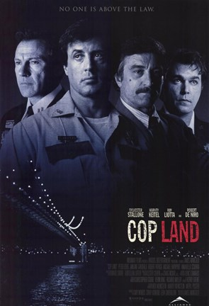 Framed Cop Land Print