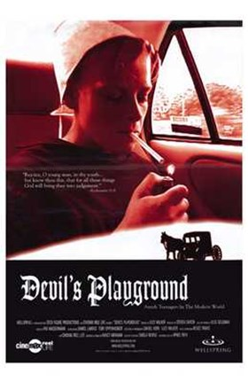 Framed Devil's Playground Print