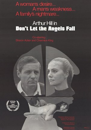 Framed Don't Let the Angels Fall Print