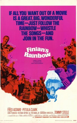 Framed Finian's Rainbow Print