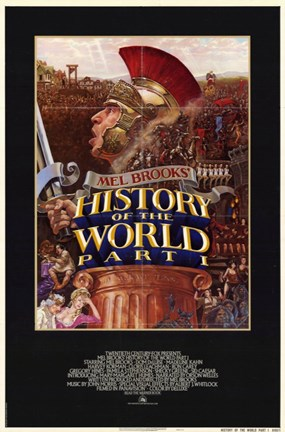 Framed History of the World: Part 1 Print