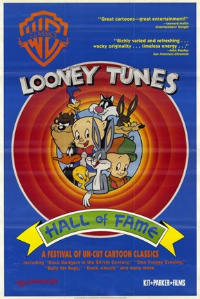 Framed Looney Tunes: Hall of Fame Print
