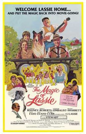 Framed Magic of Lassie Print