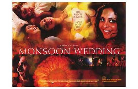 Framed Monsoon Wedding Print