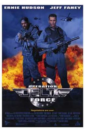 Framed Operation Delta Force Print