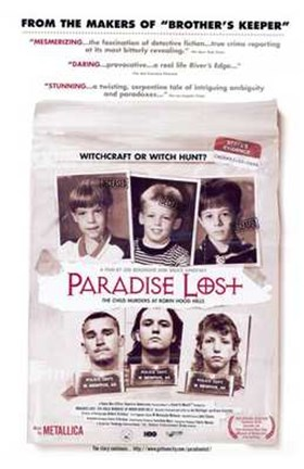 Framed Paradise Lost: the Child Murders At Robi Print