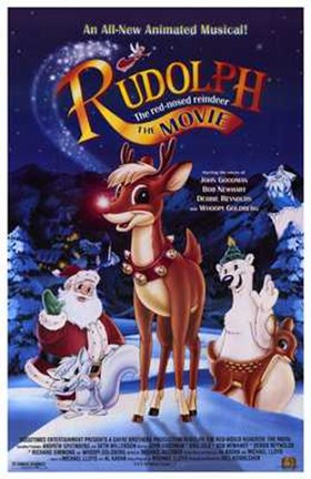 Framed Rudolph the Red-Nosed Reindeer: the Movi Print