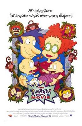 Framed Rugrats Movie Print