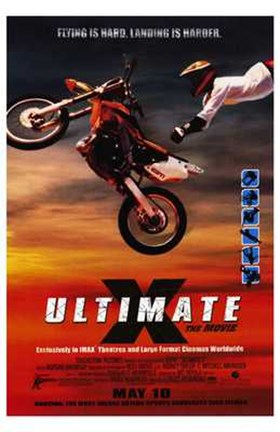 Framed Ultimate X: the Movie - poster Print