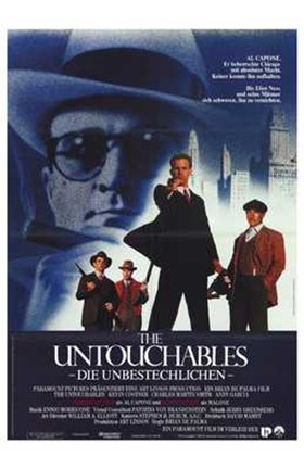 Framed Untouchables German Print