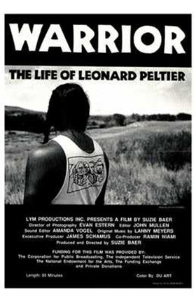Framed Warrior Life of Leonard Peltier Print