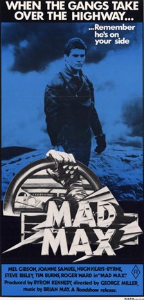 Framed Mad Max Tall Print