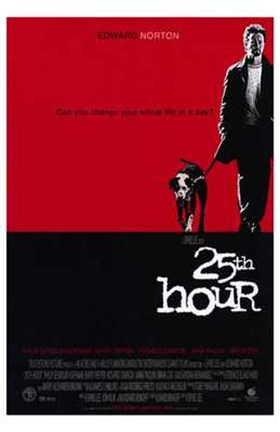 Framed 25Th Hour Movie Print