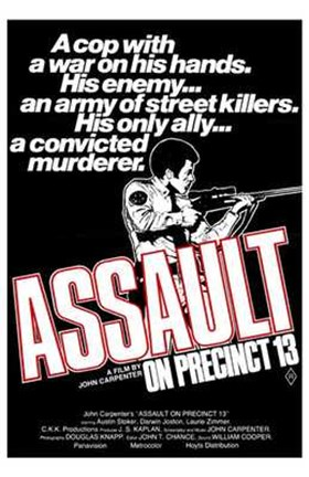 Framed Assault on Precinct 13 By John Carpenter Print