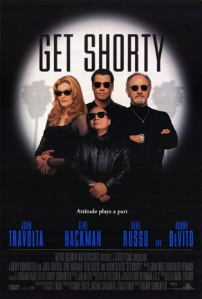 Framed Get Shorty Print