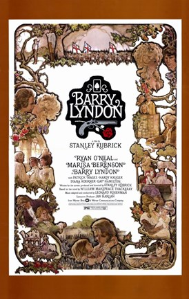 Framed Barry Lyndon - Short Print