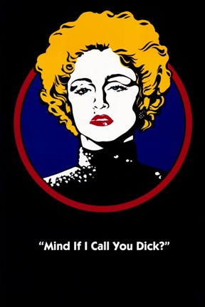 Framed Dick Tracy - Mind if I Call You Dick Print