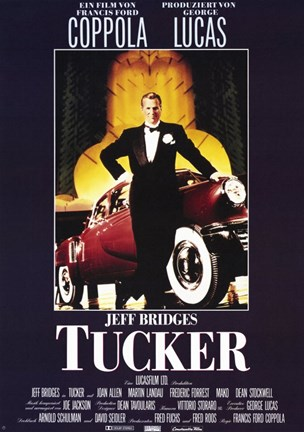 Framed Tucker: the Man and His Dream Coppola & Lucas Print