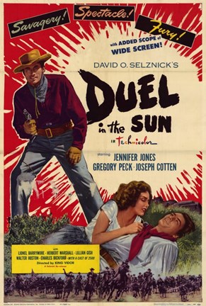 Framed Duel in the Sun David Selznick Print