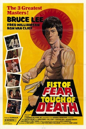 Framed Fist of Fear  Touch of Death Print