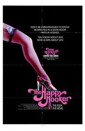 Framed Happy Hooker Print
