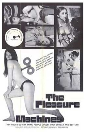 Framed Pleasure Machine Print