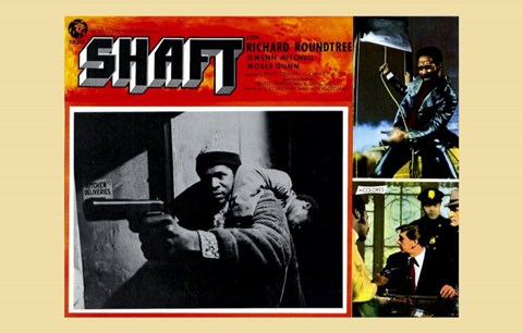 Framed Shaft Screen Shots Print