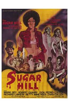 Framed Sugar Hill Print