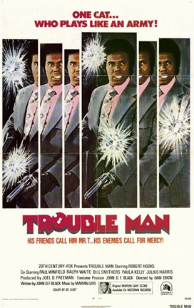 Framed Trouble Man Print
