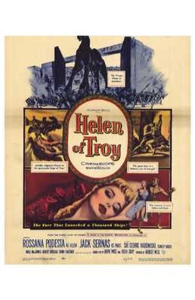 Framed Helen of Troy Print
