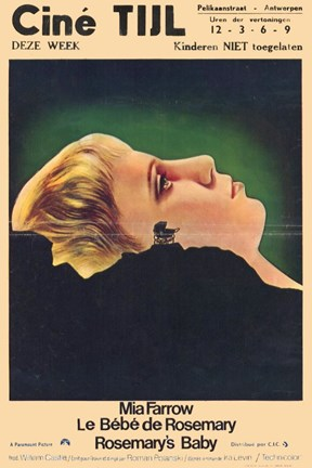 Framed Rosemary's Baby French Print
