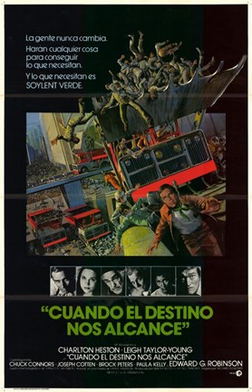 Framed Soylent Green Spanish Print